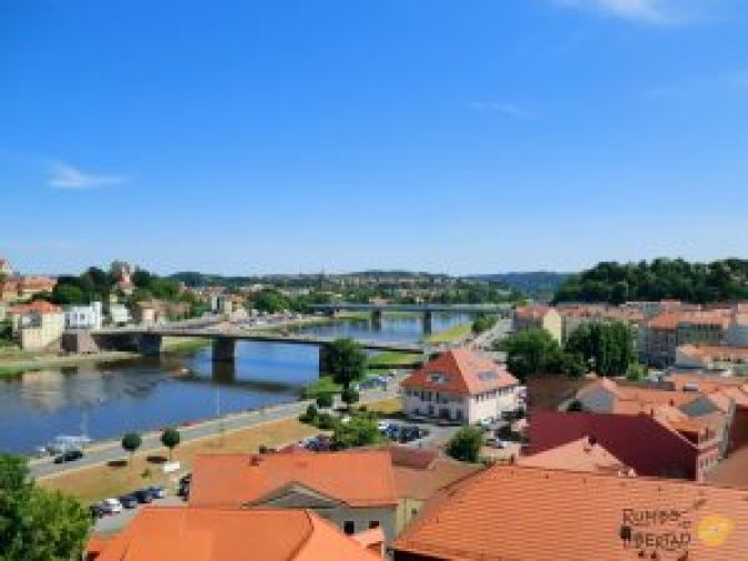 Meissen Alemania a orillas del río Elba