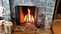 Rumford Fireplace Doors