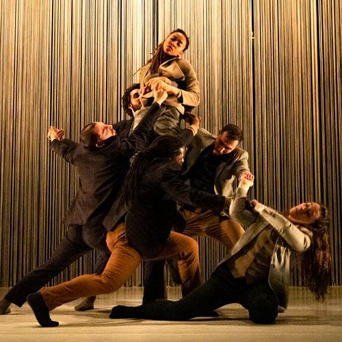Dansare på en scen.