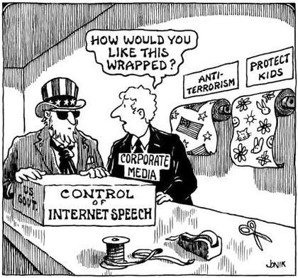 Cartoon: Uncle Sam US Govt has a box of