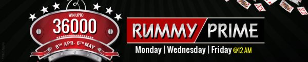 rummy prime tournaments