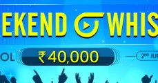 Weekend Whistle Promotion at Adda52