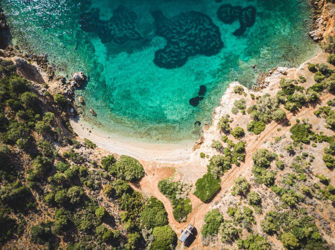 Bucht Griechenland