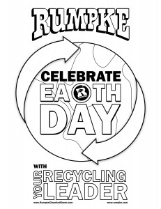 Earth Day Activity Sheets 2014