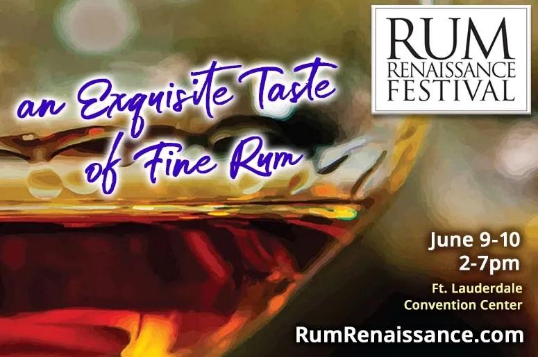 Rum Renaissance Festival - an exquisite tasting of fine rum