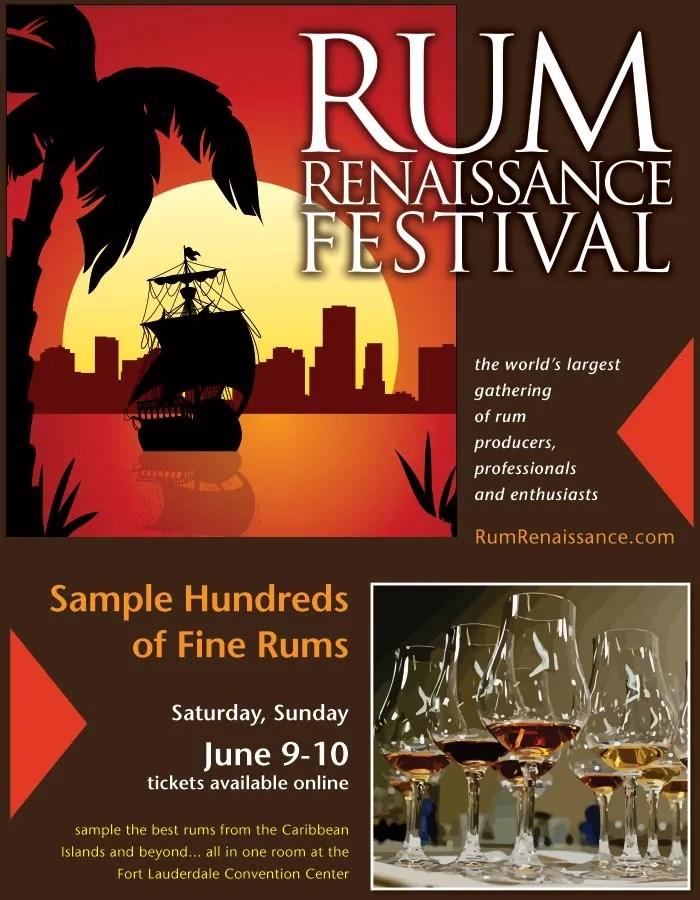 Rum Renaissance Festival 2018 Flyer