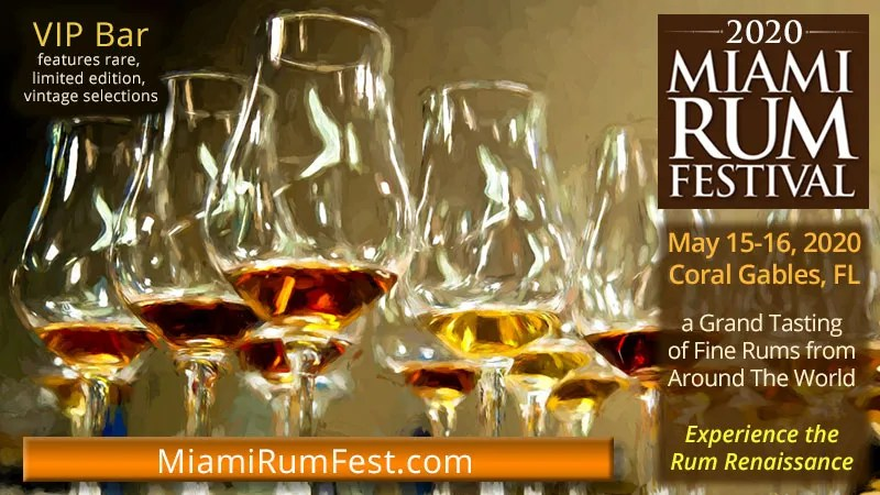 Bountiful Tasting Selection Celebrated at Miami Rum Fest
