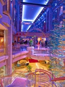 Rum Cruise - the promenade deck