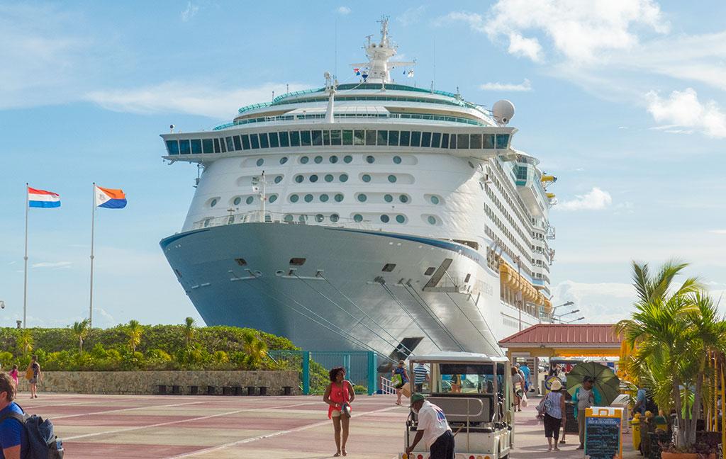 Rum Cruise - ship at dock