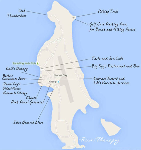 5 Days On Staniel Cay Part 2 The Island