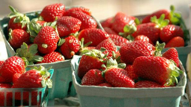 吃草莓會致癌