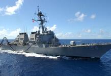 美國軍方驅逐艦