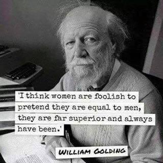 蒼蠅王作者William Golding(圖片來源:William Golding Facebook)