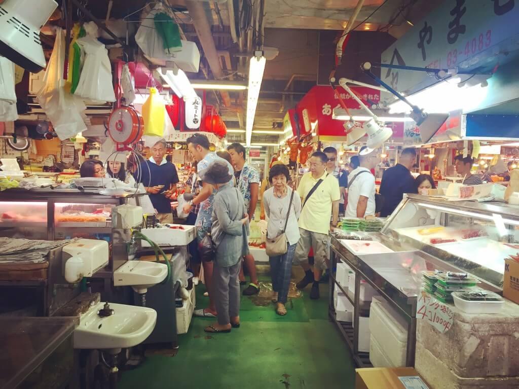 沖繩第一牧志公設市場