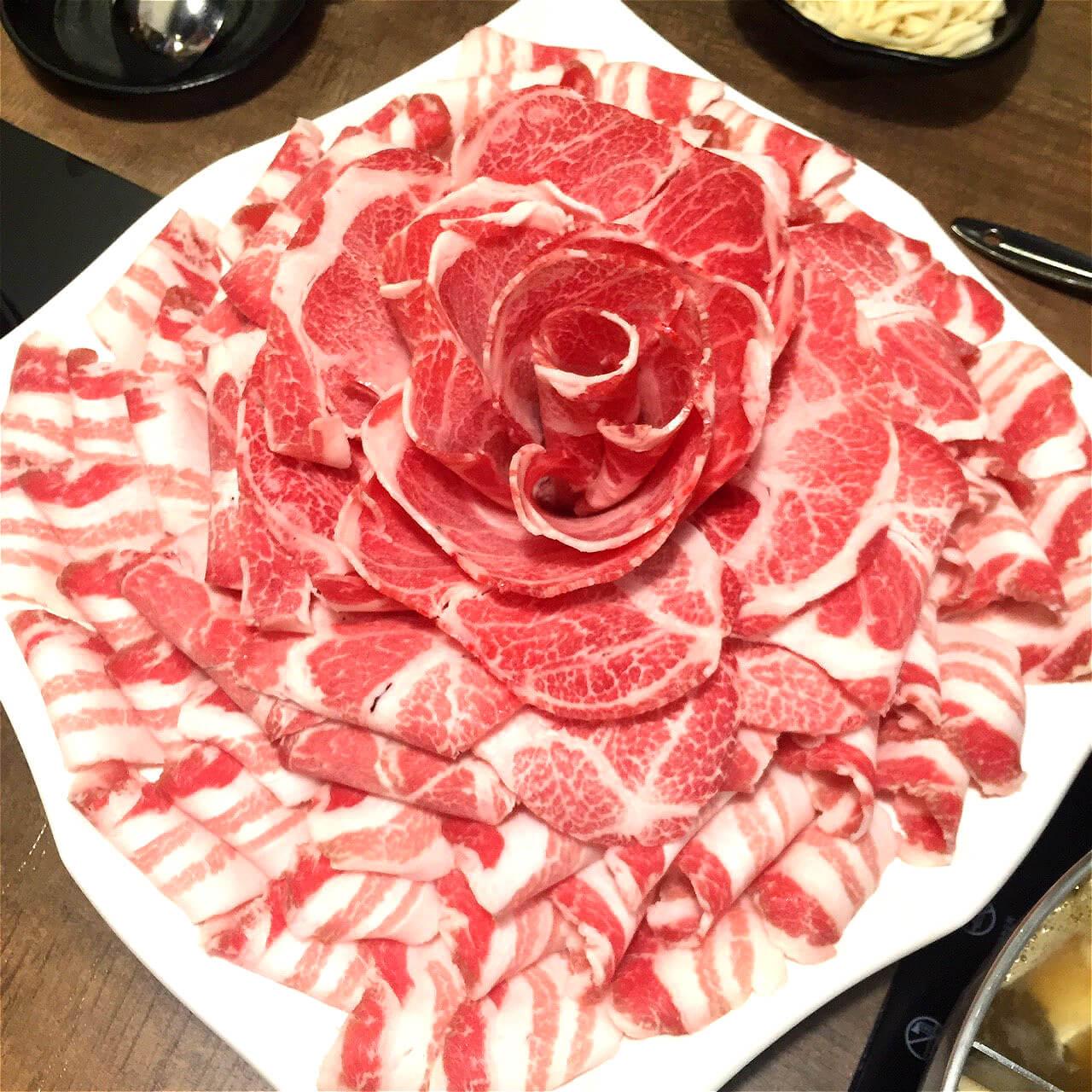 崔官木桶鍋豬肉片