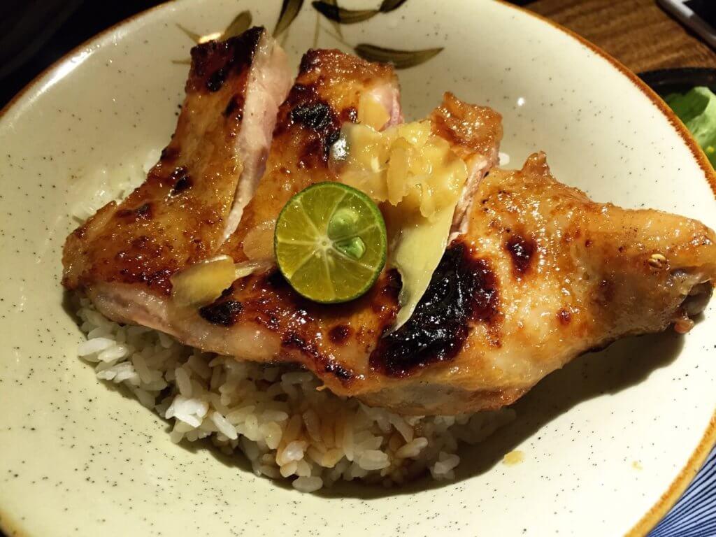 味噌燒雞腿排丼飯