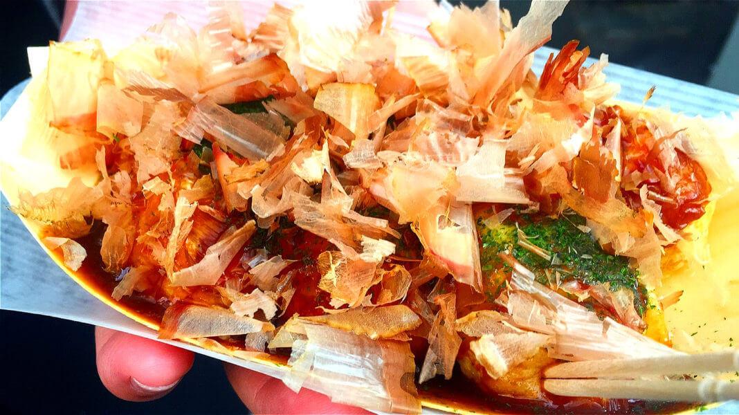 大阪章魚燒。(圖/吐司客拍攝)