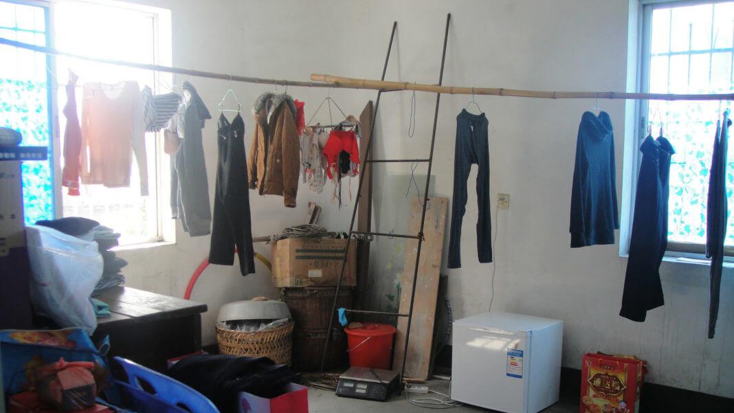 室內晾衣服.曬衣服(圖片來源:flickr,作者郭敏,C.C. License)https://flic.kr/p/g4SnvG