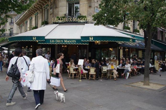 巴黎雙叟咖啡。(圖/吐司客拍攝)
