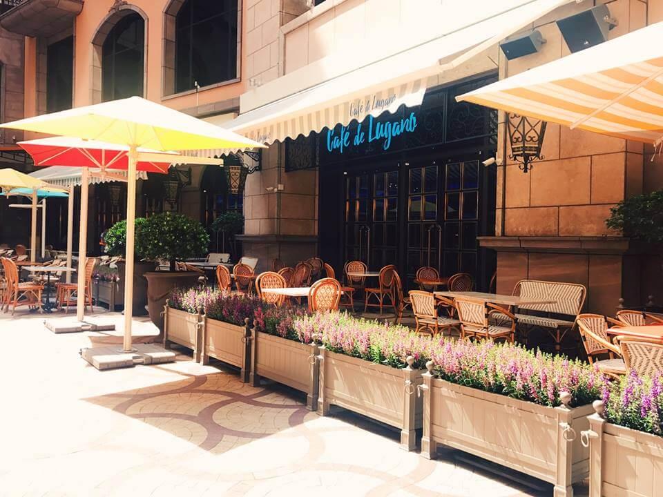 Café de Lugano盧卡諾義法咖啡館。(圖片來源:Café de Lugano盧卡諾義法咖啡館臉書粉絲團)