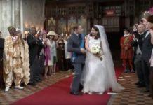 威廉王子皇室婚禮不為人知的入場片段,超讚必看?你上當了!(圖/翻攝自Youtube影片)