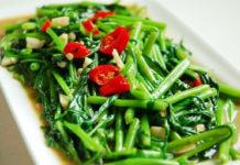 為什麼小吃店的燙青菜比較好吃(圖翻攝網路)