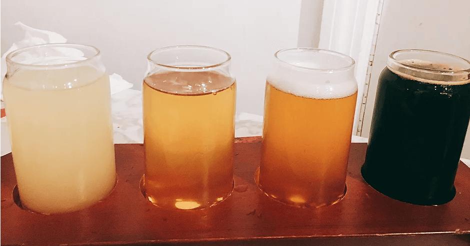 Milk & Hops是間啤酒專賣店,所有on tap的啤酒都來自於紐約Astoria當地的手工啤酒(wen拍攝)