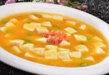 蟹黃豆腐煲的蟹黃是胡蘿蔔(圖翻攝自網路)