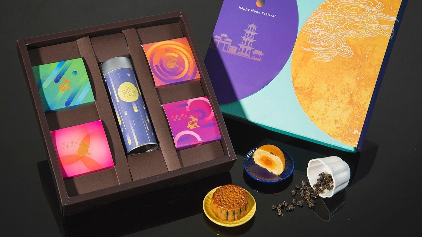 「月耀五福」送禮首選毎盒680元。 (圖/台南晶英酒店提供)