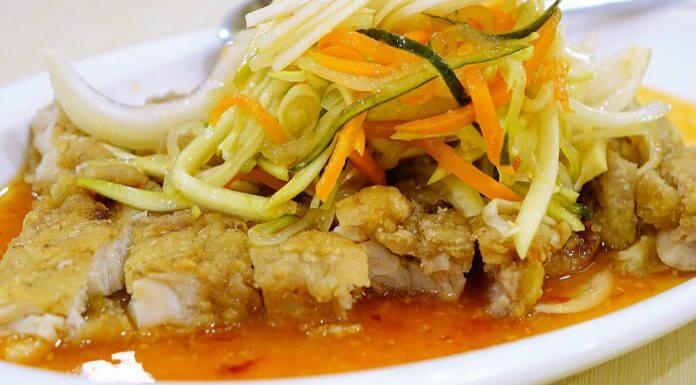 泰式椒麻雞是泰式料理嗎