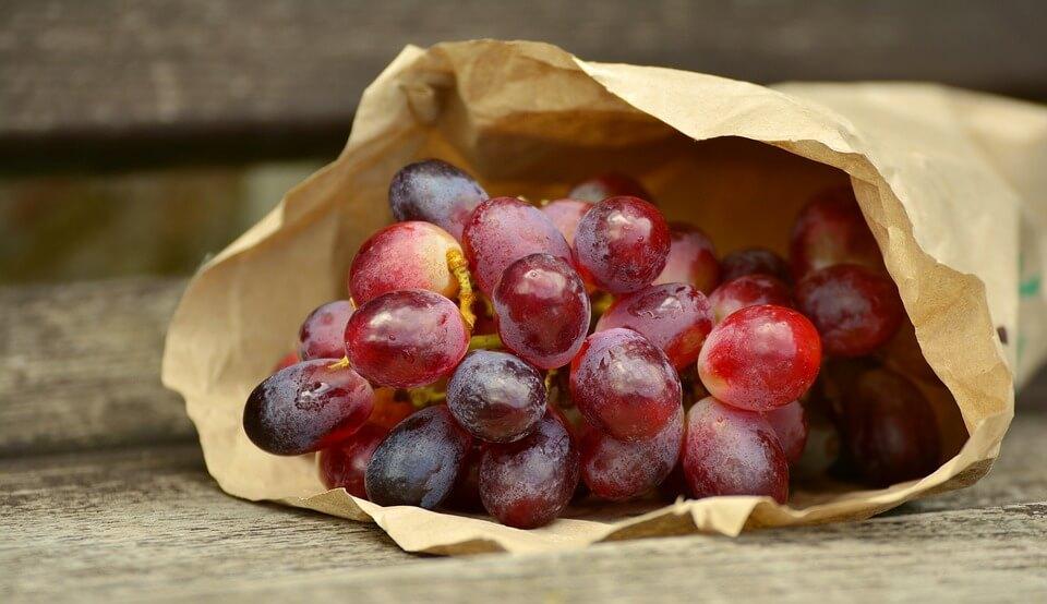 葡萄屬於強鹼性食品