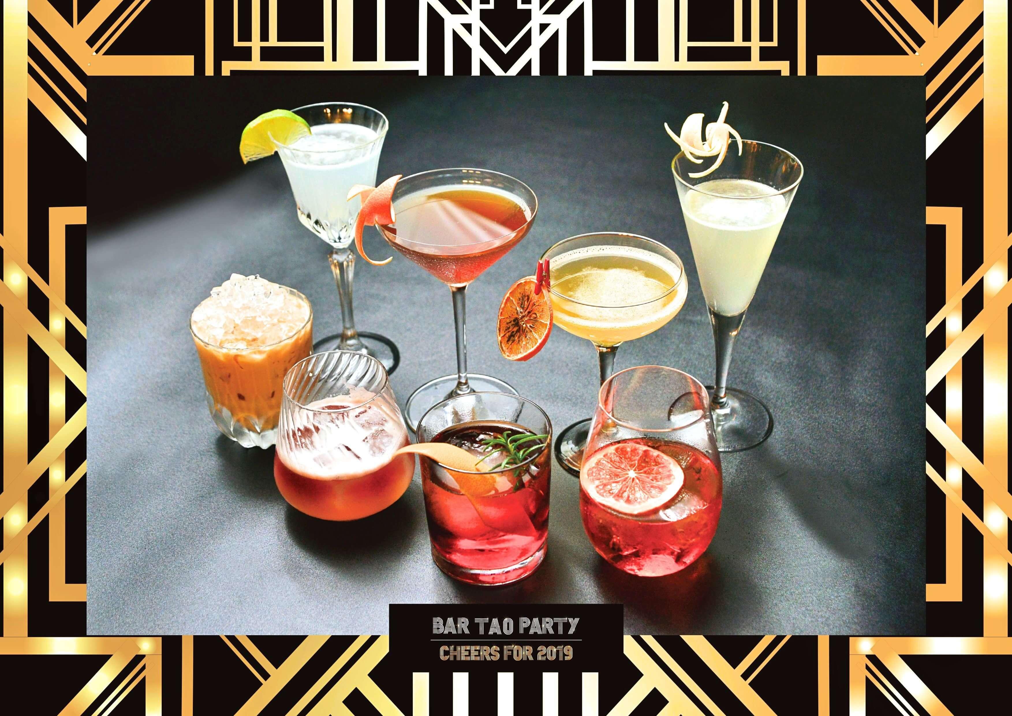 台南晶英酒吧水晶廊團隊將重新演繹多款經典調酒。(圖/台南晶英酒店提供)