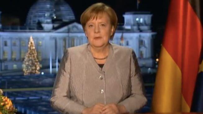 名家偽語錄/ 德國總理梅克爾的新年講話 ,發出戰爭警告?(圖片翻攝自Youtube)