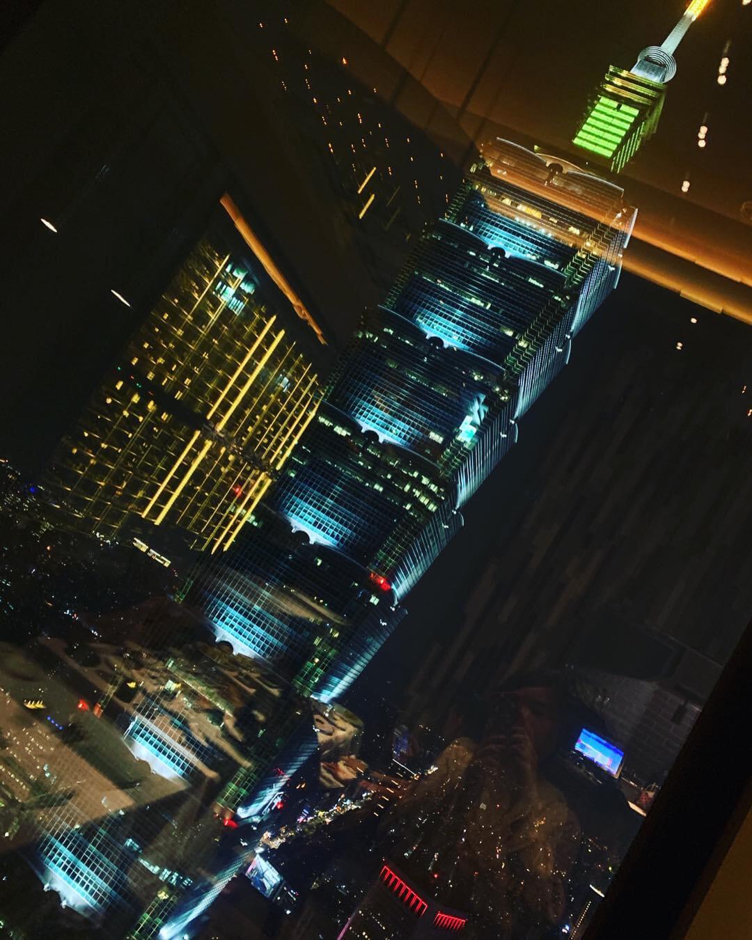 Smith & Wollensky之夜景。(圖/吐司客拍攝)