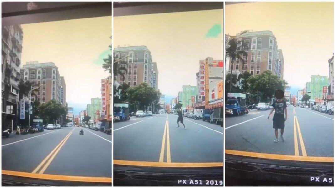 花蓮出現新的詐騙手法, 有人故意擋在路中間 攔車詐騙?這是誤會一場!
