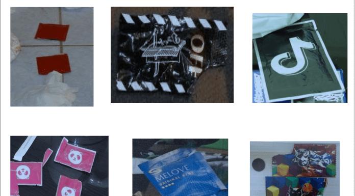 目前查獲毒咖啡包之外包裝,多仿用時下流行之圖標為標示,如抖音、foodpanda 等來吸引年輕人。(圖翻攝自台高檢新聞稿)