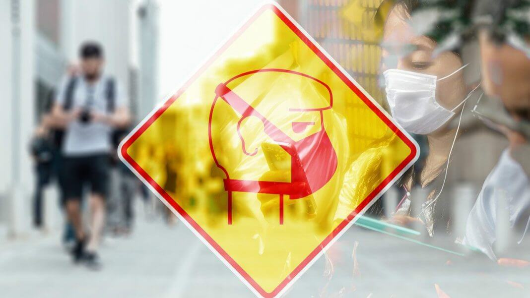 台灣正式進入武漢肺炎關鍵期(圖翻攝自疾管署網站)