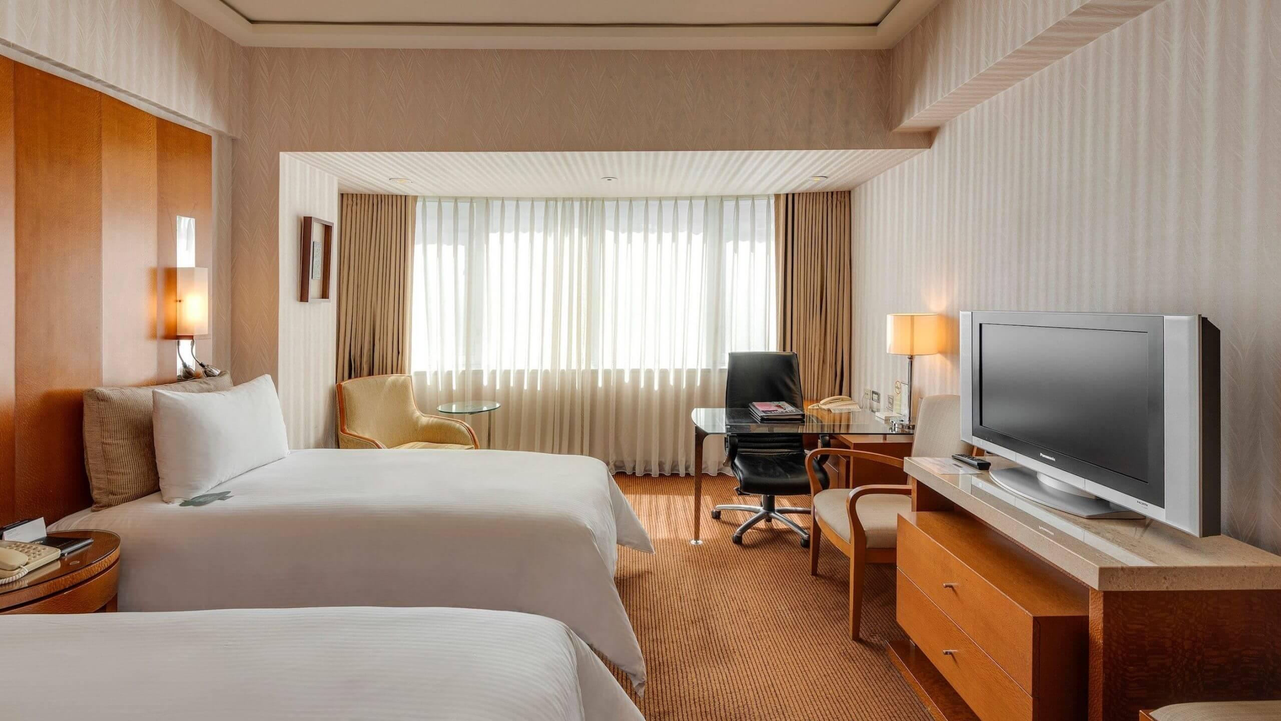 華泰王子大飯店客房。(圖/華泰大飯店集團提供)