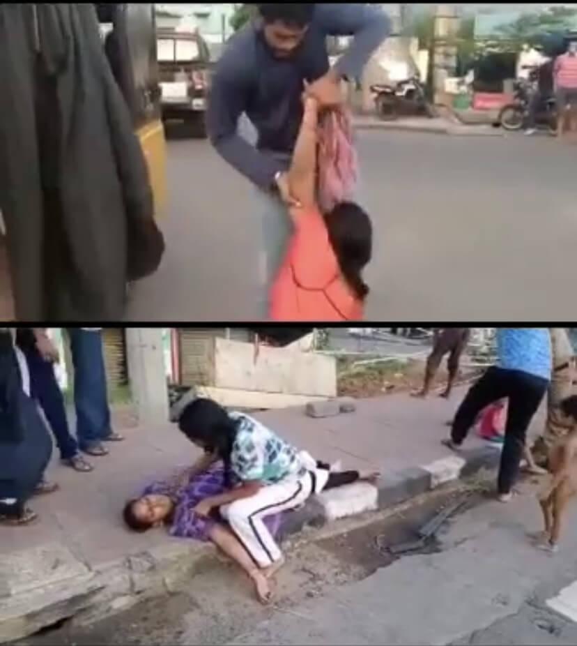 網路流傳「印度疫情」影片其實是毒氣外洩事件。