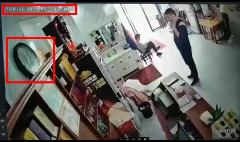 網路流傳的影片是湖南省汨羅市餐廳氣爆事件