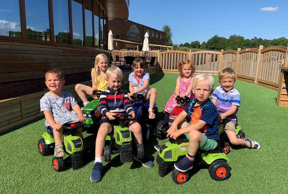 Tractor play-area is now open! - Rumwell Farm Shop