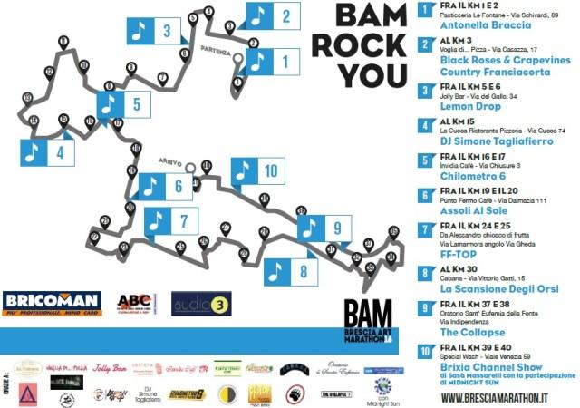 Bam Rock you - le band