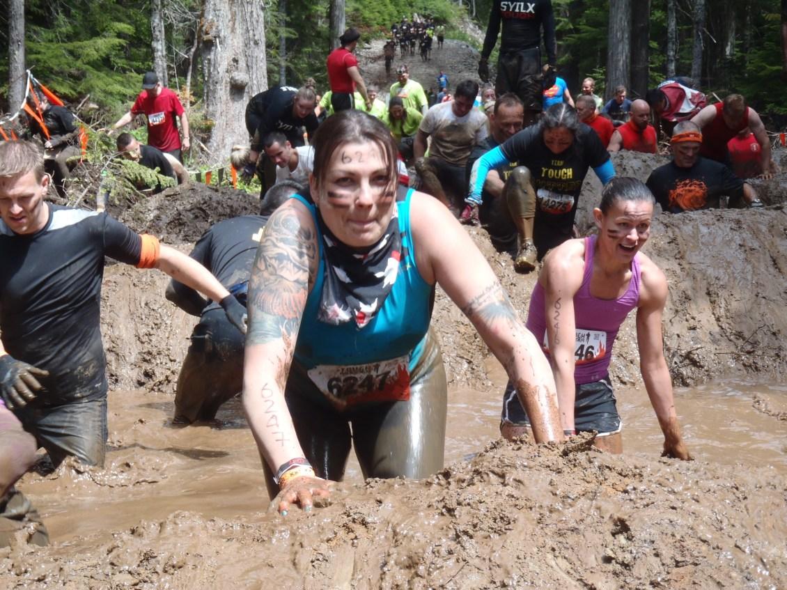 Jamie in mud heaven