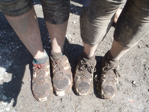 The Mudder shoes