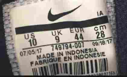 How to check if nike shoes are fake