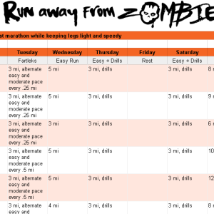 Marathon Ultra Personalized Plan