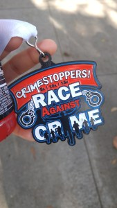 Crimestoppers 10K second place