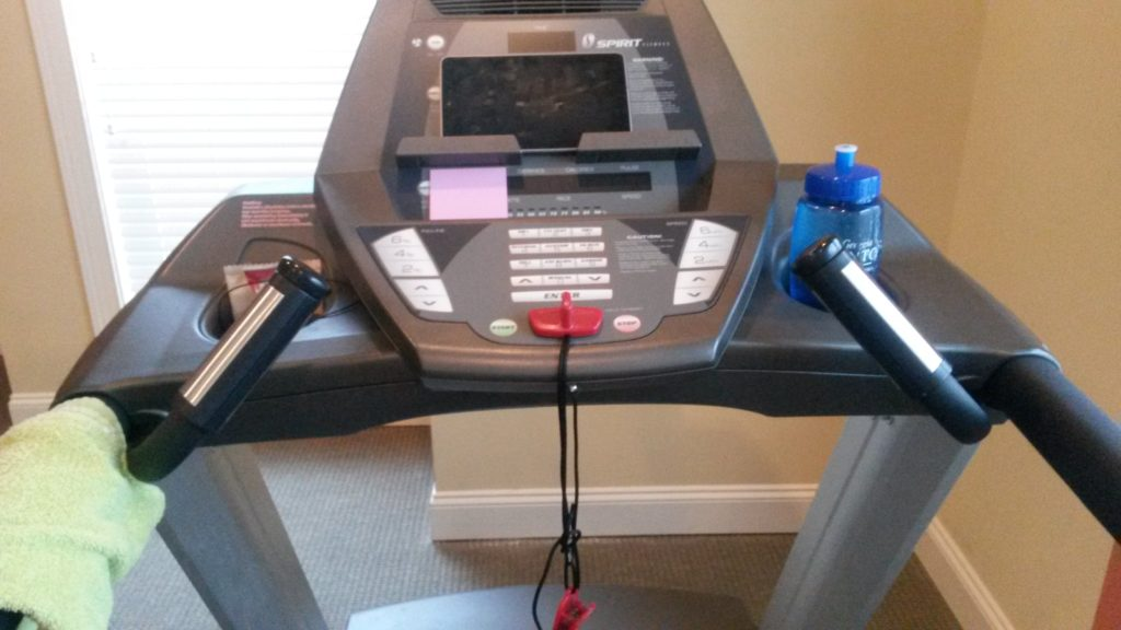 Starting Long Distance Running: Treadmill setup