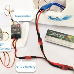 Fpv Transmitter Wiring Diagram Triple Beam Balance Runcam Sky Camerasfpv And Recommended Equipment