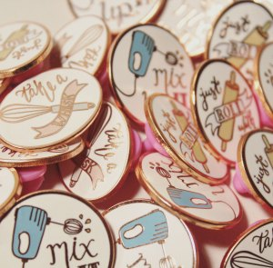 Runcible Spoon Enamel Pins